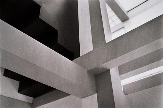 Detail of House VI interior. (Courtesy SFMOMA)