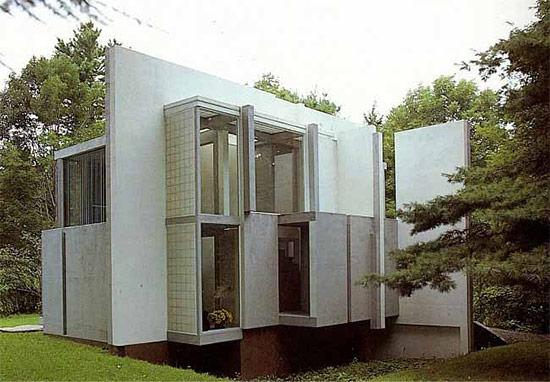 Peter Eisenman's House VI. (Via Archdaily)