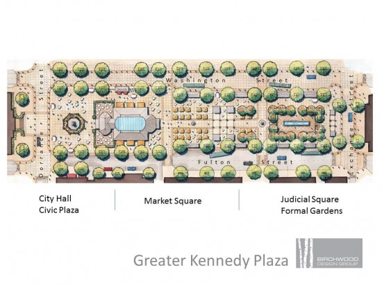 Greater Kennedy Plaza plan.