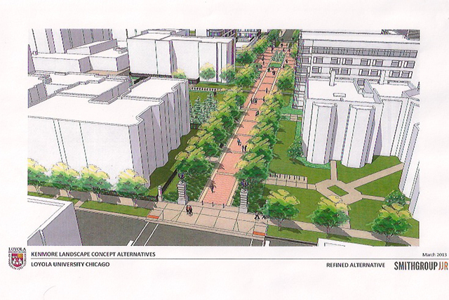 Loyola University Hopes To Close Kenmore Ave For Pedestrian Walkway