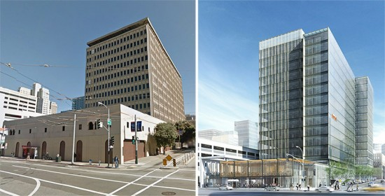 Enclos is working with SOM to retrofit the facade of 680 Folsom Street in San Francisco.
