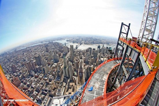 View from the top of One World Trade Center. (Courtesy Port Authority)
