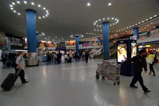 Inside Penn Station. (Kevin Harber / Flickr)