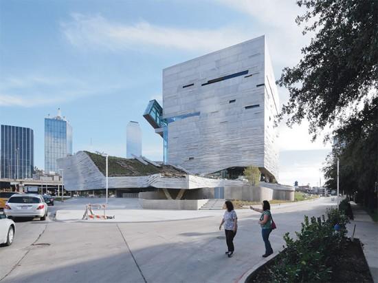 Thom Mayne's Perot Museum in Dallas. (Iwan Baan)