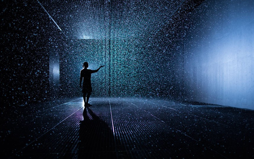On Viewu003e MoMA Takes A Shower With New Rain Room Installation