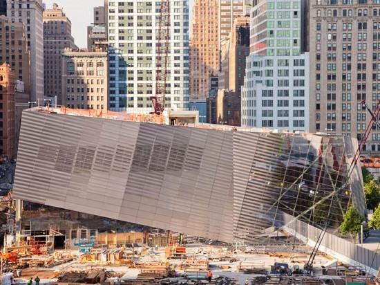 Memorial at the World Trade Center. (Joe Woolhead)
