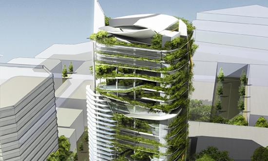 Keynote Speaker, Ken Yeang's vision for a green skyscraper.