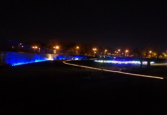 Free City lighting (Courtesy of Flint Public Art Project)