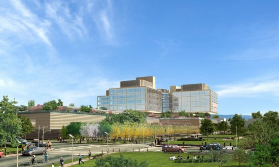 STANFORD BREAKS GROUND ON NEW HOSPITAL (RAFAEL VIÑOLY ARCHITECTS)