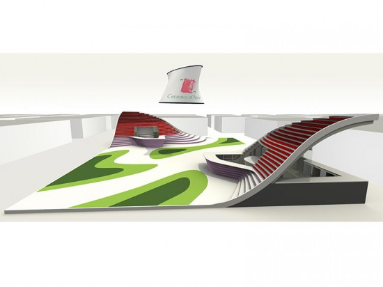 According to the designers, modeling the project digitally streamlined the design process. (courtesy e+i studio)