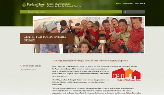 Portland State University Center for Public Interest Design (pdx.edu)
