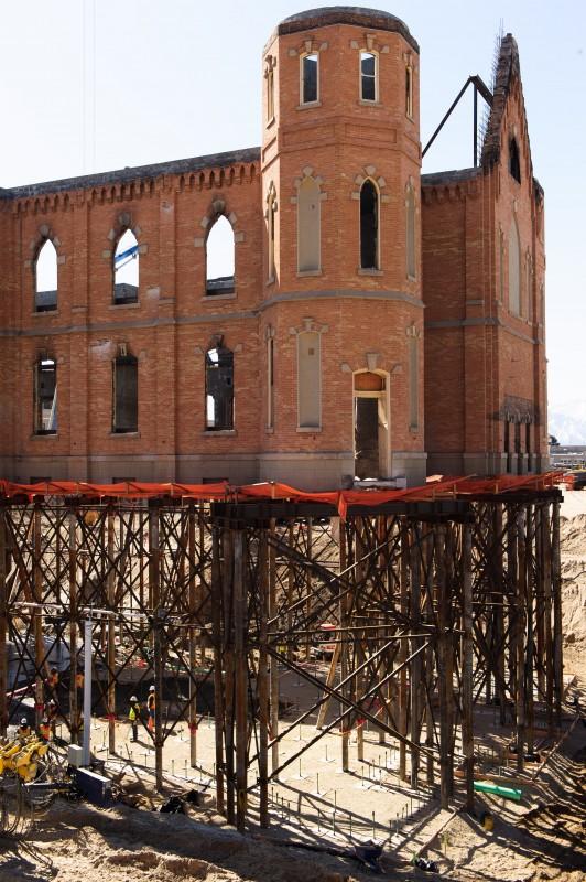 Provo Temple Construction (Courtesy Mormon Newsroom)