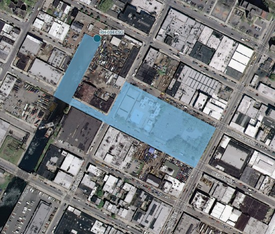 SITE MAP: DEGRAW STREET AND NEVINS STREET (COURTESY GOWANUS BY DESIGN)