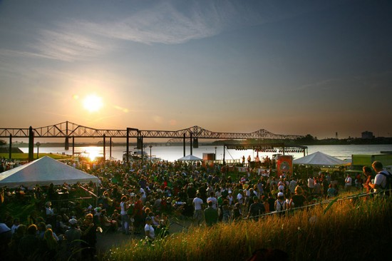 Louisville Waterfront Park Waterfront (Courtesy of Waterfront Development Corporation/Wales Hunter, Nfocus Images)