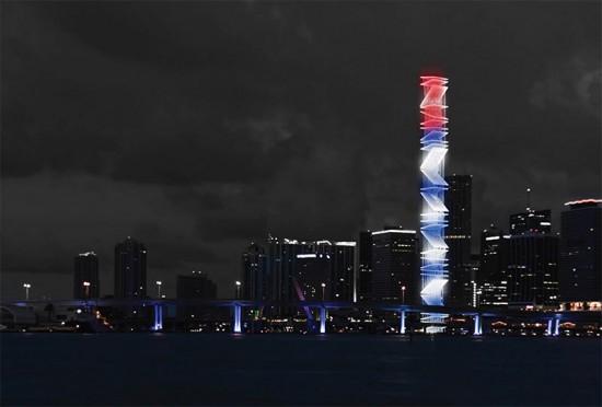 Torre De Las Americas by Mauricio Gonzalez, Alfredo Anida.