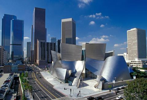 Frank Gehry's Walt Disney Concert Hall. (Courtesy Gehry Partners)