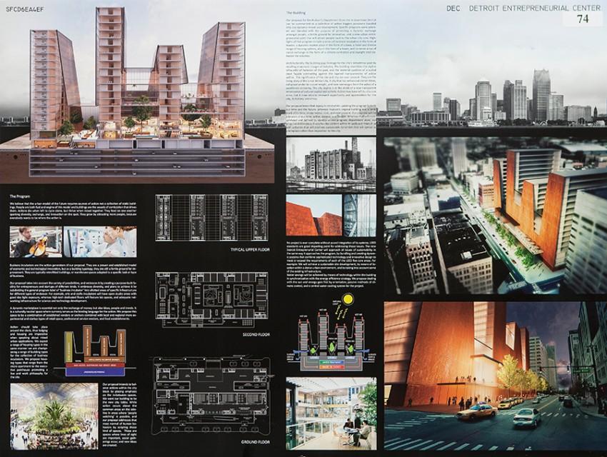"""Detroit Entrepreneurial Center (DEC),"" Efrain Velez, Juan Nunez, Marko Kanceljak"