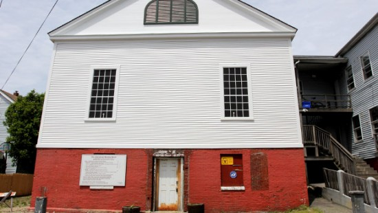 Abyssinian Meeting House in Portland, Maine (Courtesy of Greater Portland Landmarks)