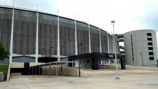 Astrodome in Houston, Texas (Courtesy of National Trust for Historic Preservation)