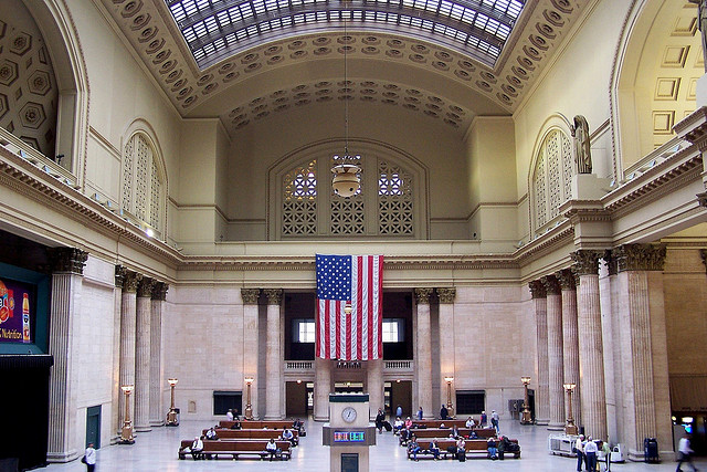 Chicago Union Station (J. Stephen Conn via Flickr)