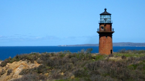 Gay Head Lighthouse in Aquinnah, Massachusetts (Courtesy of Martha's Vineyard Museum)
