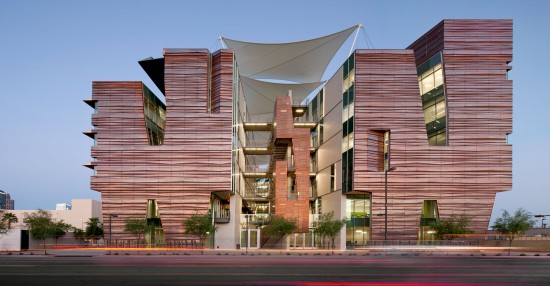 CO Architect's Health Sciences Education Building, Phoenix Biomedical Campus. (Courtesy CO Architects)