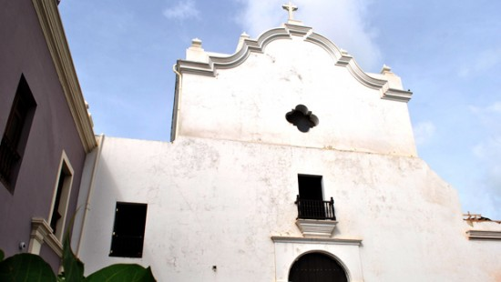 San José Church in San Juan, Puerto Rico (Courtesy of Archdiocese of San Juan of Puerto Rico)