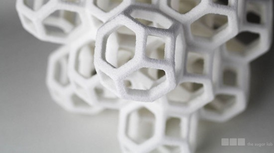 """When you work in 3D printing, you have to think about the pattern,"" said Kyle Von Hasseln. (courtesy Sugar Lab)"