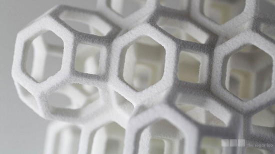 Liz and Kyle Von Hasseln have developed a method to 3D print edible sugar.