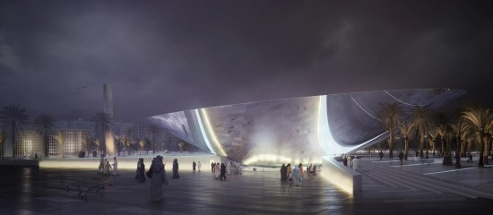 Snøhetta design of Arriyadh Metro Station (Facebook / Snøhetta)