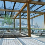 Team One's Proposal for Empire Stores coffee warehouses (Courtesy of Brooklyn Bridge Park)