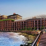 Team Ten's Proposal for Empire Stores coffee warehouses (Courtesy of Brooklyn Bridge Park)