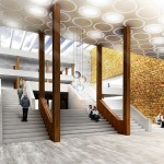 Team Two's Proposal for Empire Stores coffee warehouses (Courtesy of Brooklyn Bridge Park)