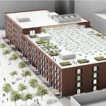 Team Three's Proposal for Empire Stores coffee warehouses (Courtesy of Brooklyn Bridge Park)