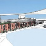 Team Seven's Proposal for Empire Stores coffee warehouses (Courtesy of Brooklyn Bridge Park)