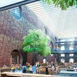 Team Eight's Proposal for Empire Stores coffee warehouses (Courtesy of Brooklyn Bridge Park)