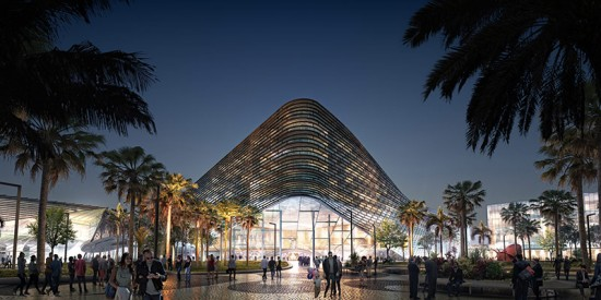 Proposal for Miami Beach Convention Center (Courtesy of BIG)