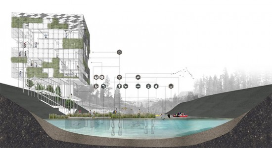 "The ""Micro Urban"" proposal was awarded first prize."
