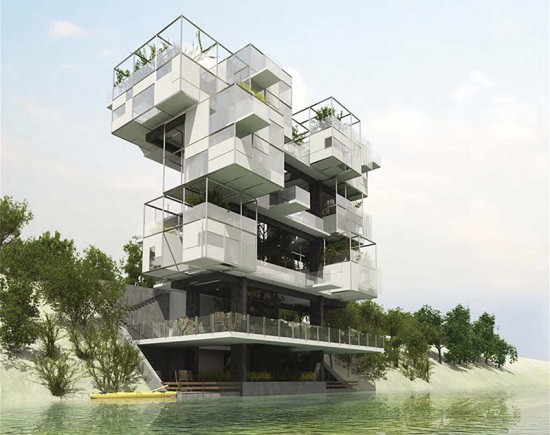 A proposal by Ahmed Hamdi Architects received an honorable mention.