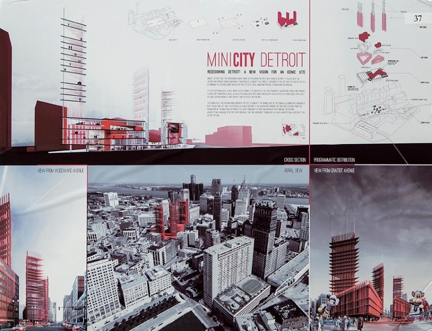 """""""MINICITY Detroit,"""" Davide Marchetti and Erin Pellegrino"""