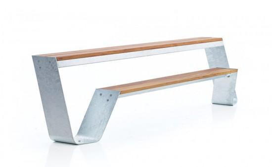 Hopper Bench by JANUS et Cie.