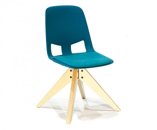 Us Chair Wood Base by American Seating Company.