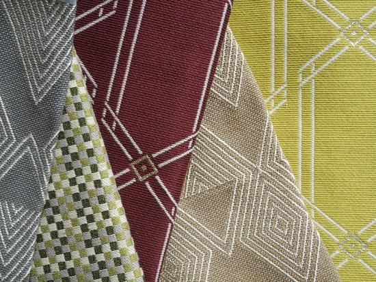 Metallic Yarns by Robert Allen Contract.