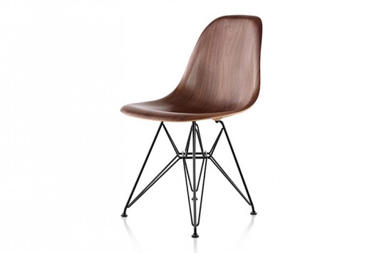 Eames Molded Wood Side Chair by Herman Miller.
