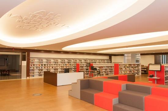 St. Louis Central Library Renovation. (JIM BALOGH / ST. LOUIS PUBLIC LIBRARY)
