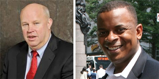 Tom Prendergast (left) and Anthony Foxx (right).