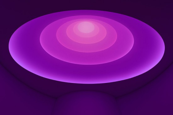 Aten Reign shifted to purple (David Heald/Courtesy Solomon R. Guggenhiem Foundation)