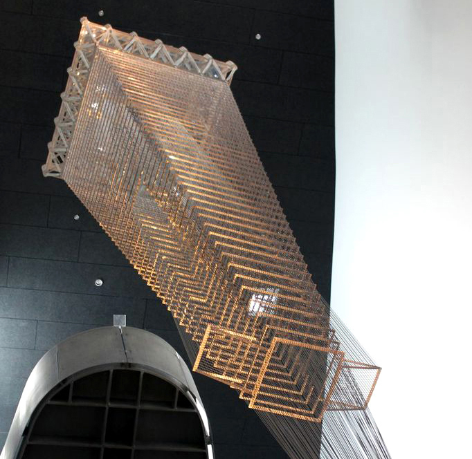 AN Blog Ball Nogues Hangs San Franciscos Transamerica Pyramid From The Nevada Art Museums