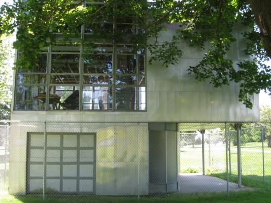 The Aluminaire House. (Flickr/Jenosale)