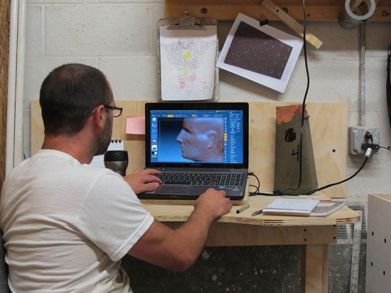 Boston Valley ARCH Design Lab developed digital models in Zbrush and Rhino. (Mitchell Bring/Boston Valley Terra Cotta)